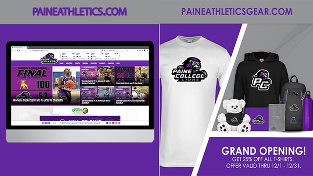 6de06d168 Paine Athletics Announces Redesign of Official Website and Launch of New  Online Store